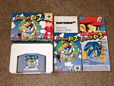 Snowboard Kids 2 Nintendo 64 N64 Complete CIB Authentic Very Good