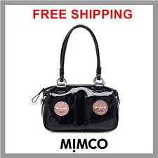 MIMCO mini turnlock bag Black Rose Gold Hardware BNWT's And Dust Bag RRP $399 DF