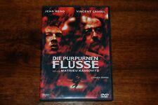 DVD Die Purpurnen Flüsse mit Jean Reno und Vincent Cassel