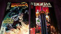 Lot of 2 DC Comic Books Richard Dragon #2 Aug-04 & Doom Patrol #4 Mar-02