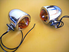 BULLET  LIGHTS Dual Filament  INDICATORS / PARKER  HOT ROD RAT ROD