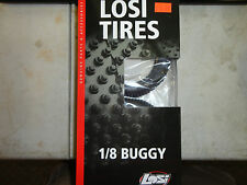 LOSI 1/8 BUGGY TIRES BLOCKHEAD WITH FOAM INSERTS LOSA7782G