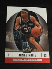 2006-07 Finest JAMES WHITE RC #76 basketball card ~ SPURS rookie ~ F1
