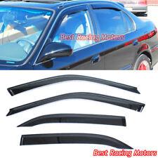 JDM Style Side Window Visors Fits 96-00 Honda Civic 4dr