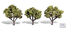 """TR3506 Woodland Scenics 3-4"""" Early Light 3 Pack Ready Made Trees TMC"""