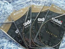 "New in Package Addi Premium Knitting Circular Needles Pick 16"" 24"" 32"" Sale"