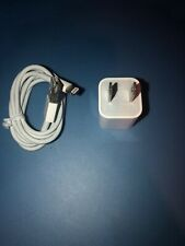 Apple Original Wall Charger iPod iPhone USB Power Cube and Cable 5W MD810LL/A