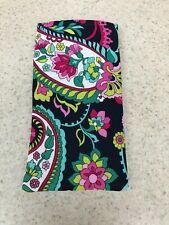 Eye Glass /  Sunglass Soft Fabric Case - Handmade - Petal Paisley Pattern - NEW!