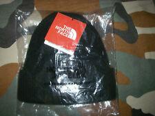 THE NORTH FACE black beanie bonnet noir taille unique one size neu