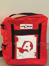 "Left 4 Dead Health Pack Bag Backpack + LOGO - 11.5""x9.5""x3.5"" Avoid The Zombies!"