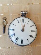 Pocket Watch 1810 Antique Silver fusee