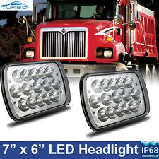 2x LED Projector Headlight For International Truck 3800 4700 4800 4900 8100 8200