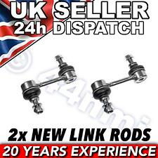 Pair of Front Drop Link Rods x 2 To Fit Subaru Outback 2003-