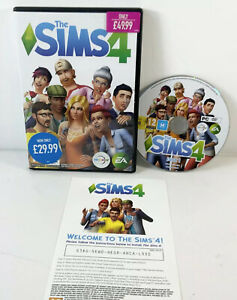 The Sims 4 Base Game - PC DVD-Rom - Video Game Incomplete Missing Disk 2