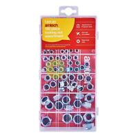 Amtech 100Pc Assorted Locking Nuts Bolts Storage Case Inserts Nyloc Professional