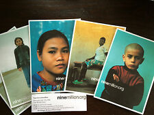 Exclusive Collectors Photo Cards Nike & United Nations Refugee Campaign WHQ 2006