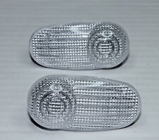 2x GENUINE OEM ALFA ROMEO GT MITO FIAT BRAVO INDICATOR SIDE REPEATER CLEAR LH RH