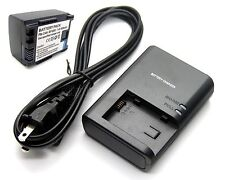 Battery + Charger for BP-808 Canon XA10 Professional Camcorders Brand New
