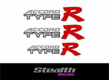 Accord Type R decal sticker set/ kit, Type-R various colours FREE UK post