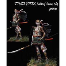 1:20 90mm Resin Figure Model Kit TOMOE GOZEN,BATTLE OF AWAZU,1184 Unassambled