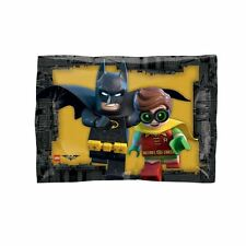 LEGO Batman Junior Shape Foil Balloon DC Superhero Birthday Party Decorations