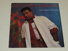 """GREGORY LAPORTE this is compa / can i have your love 12"""" RECORD PROMO FUNK RARE!"""