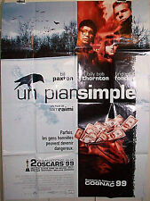 A SIMPLE PLAN French 3 Sheet Poster SAM RAIMI Bill Paxton BILLY BOB THORTON