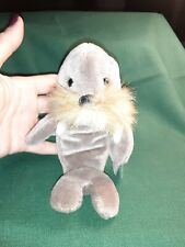 Retired Ty Jolly Walrus with style Beanie Babies Pvc Pellets