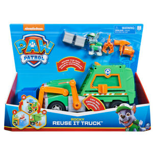 Paw Patrol Rocky's Reuse It Truck with Pup Figure & 3 Tools Ages 3+ Playset Toy