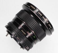 "Canon FD 20mm f2.8 ""U.S. NAVY""  #32207 ............ Very Rare !!"