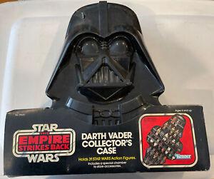 Vintage 1983 Star Wars Collectors Darth Vader Case Kenner