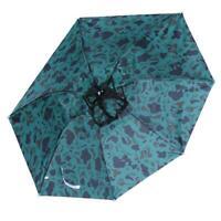 #Z Camouflage Head Umbrella Anti-UV Anti-Rain Outdoor Fishing Umbrella Hat