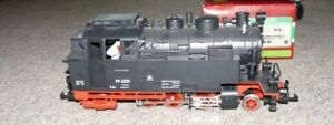 M22 LGB 2080D Tenderlok BR 99 6001 Harz Querbahn Rauchgenarator digital