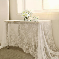 3 Meter Long Blossom Wedding Dress Tulle Embroidered Eyelash Costume Lace Fabric