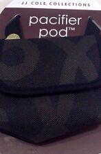 Jj Cole Pacifier Pod, Black & Gold