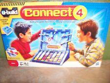 Hasbro U-Build IT Connect 4 Board Game Lego System Family Fun New
