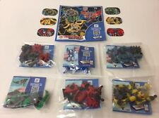 Transformers Kinder Surprise Complete Set Toys & 7 BPZ 2017 Mexico Very Rare