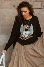 Spell and The Gypsy ❤️Dancing Outlaw Organic Sweater Sloppy Joe XL❤️NWT sold out
