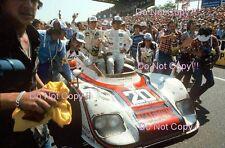 Jacky Ickx & Gijs Van Lennep Martini Porsche 936 Winners Le Mans 1976 Photograph