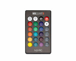 MB Quart N2-RC Wireless RF LED Light Remote Control For Select MB Quart Speakers