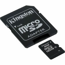 Kingston SDC10/8GB A 8GB microSDHC Memory Card Class 10 with SD Adapter