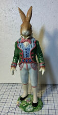 Fitz And Floyd Old World Rabbit Male Figurine