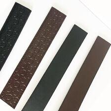 Replacement Belt H Belt Men's Genuine Leather Belt Strap 3.4 width (No Buckle)