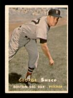 1957 Topps Set Break # 229 George Susce VG-EX *OBGcards*