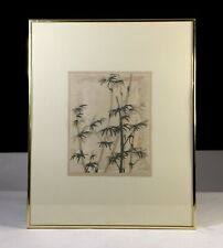 Signed Pencil BAMBOO II Print Framed