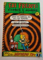 Fat Freddy's Comics & Stories No. 2 Rip Off Press 1986 Gilbert Shelton Very Good