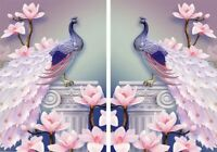 5D Diamond Painting DIY Peafowl Embroidery Cross Stitch Craft Art For Home Decor