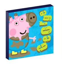 GEORGE PIG peppa CANVAS PICTURE