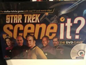 Star Trek Scene It -The Trivia Dvd Game - Sealed 2008
