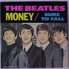 BEATLES: Money / Sure To Fall 45 (PS, blue wax) Rock & Pop